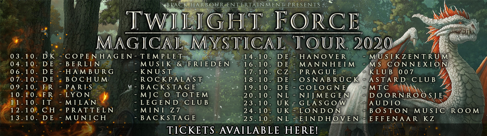 Twilight Force Tour Banner